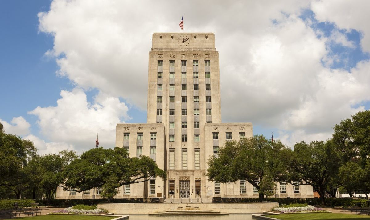 The 1930s-era City Hall building in Downtown Houston is an Art Deco masterpiece.