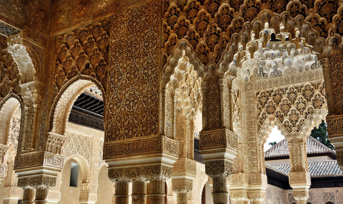 The intricately-carved Moorish arches of Alhambra are worth more than a passing glance.