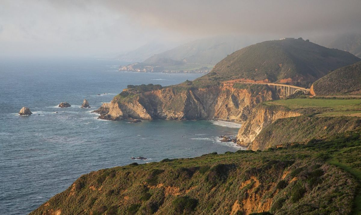 Big Sur is the most famous stretch of the Pacific Coast Highway in California.