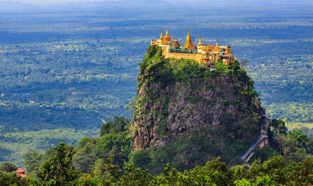 Myanmar's famous Mount Popa