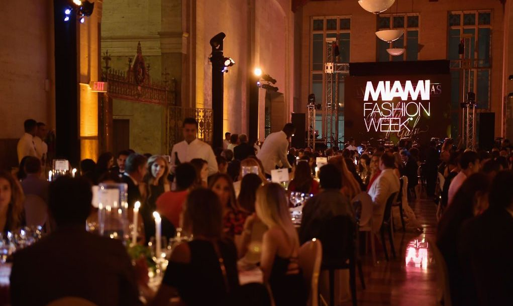 The elegant Alfred I. duPont Building hosts Miami Fashion Week, among many other events.
