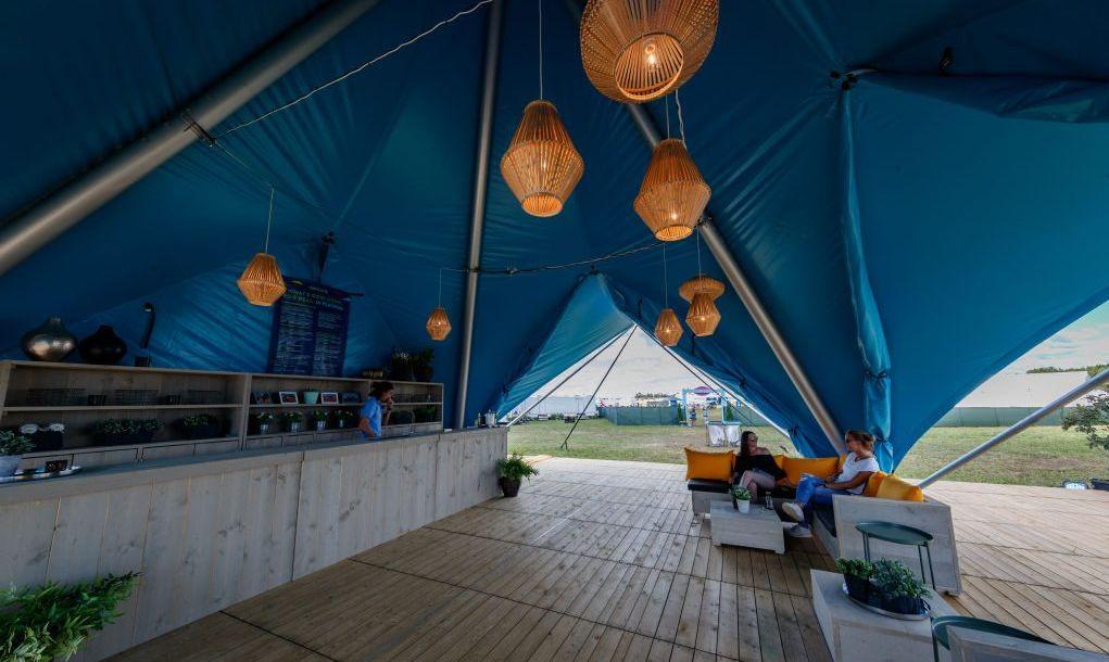 VIP camping at Bonnaroo