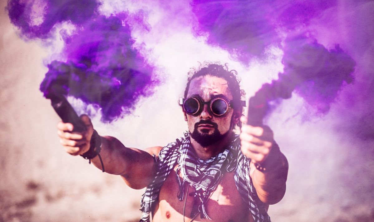 Burning Man is an experiment in temporary community building.