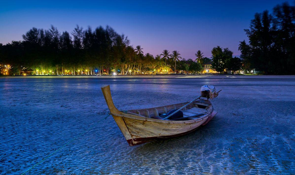 Low tide on tranquil Koh Lanta.