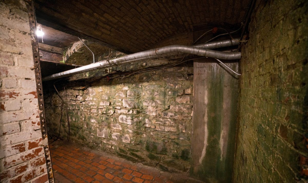 A shot of the Seattle underground