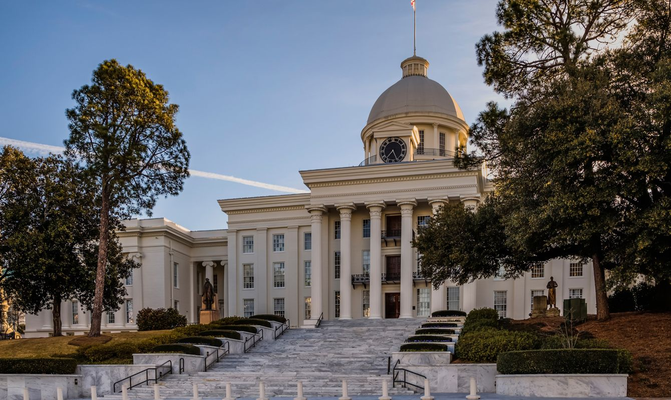 Alabama's State Capital building, Montgomery, Alabama