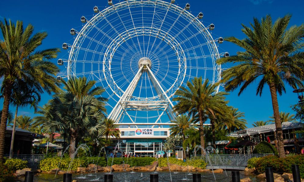 Orlando Eye ride experience.The Wheel at ICON Park Orlando is a 400-foot-tall giant observation wheel in International Drive area