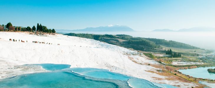 Visit Pamukkale, Turkey's Cotton Castle
