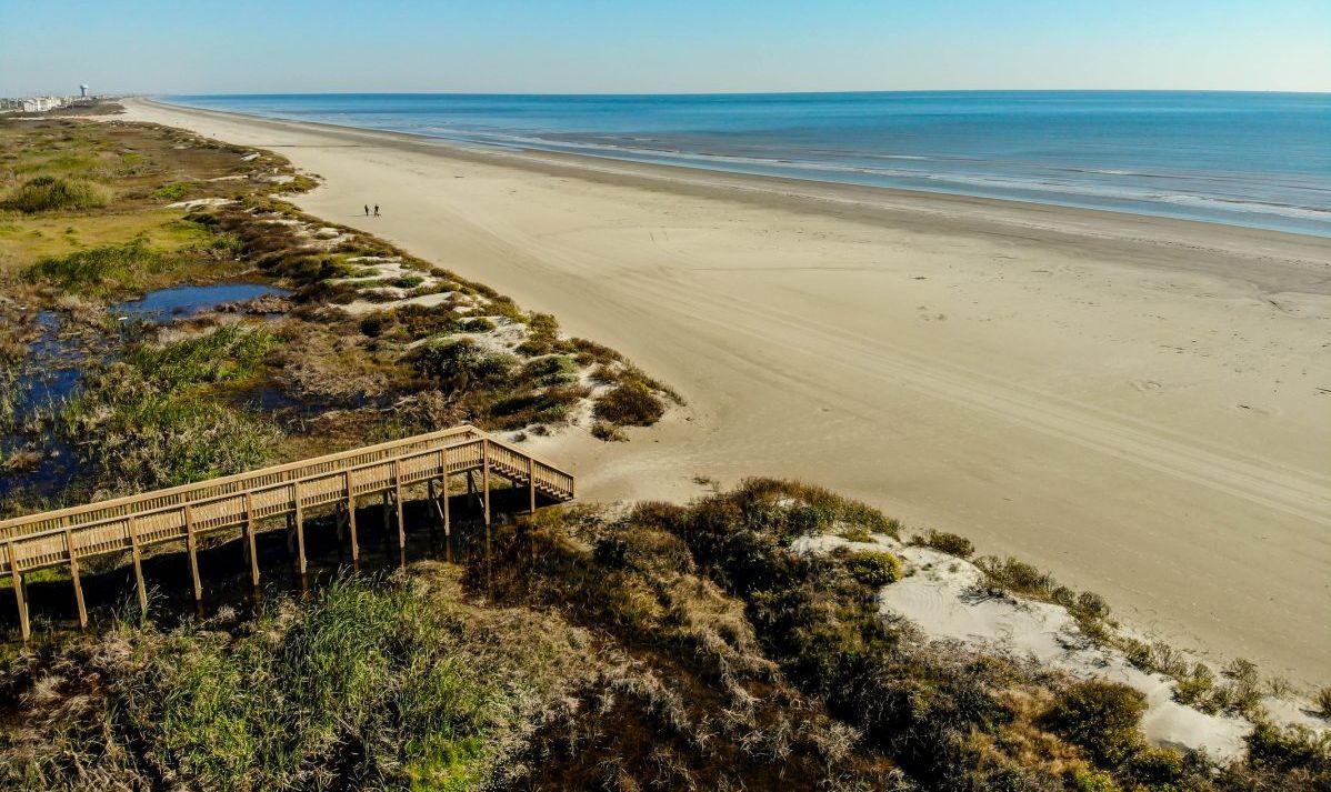 san luis pass beach