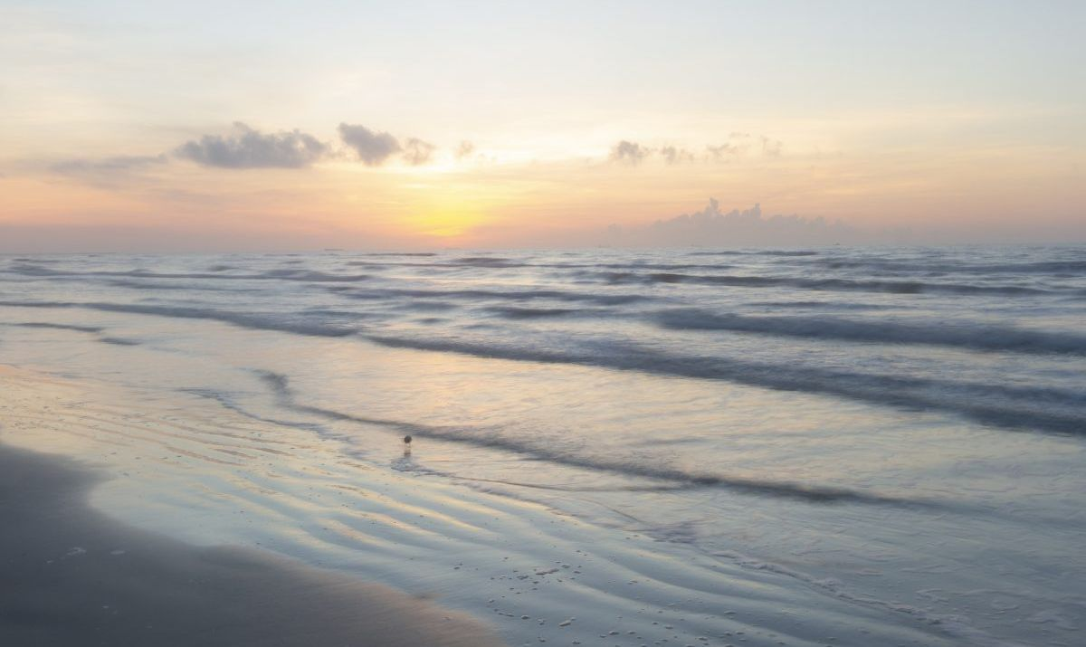 port aransas texas sunset
