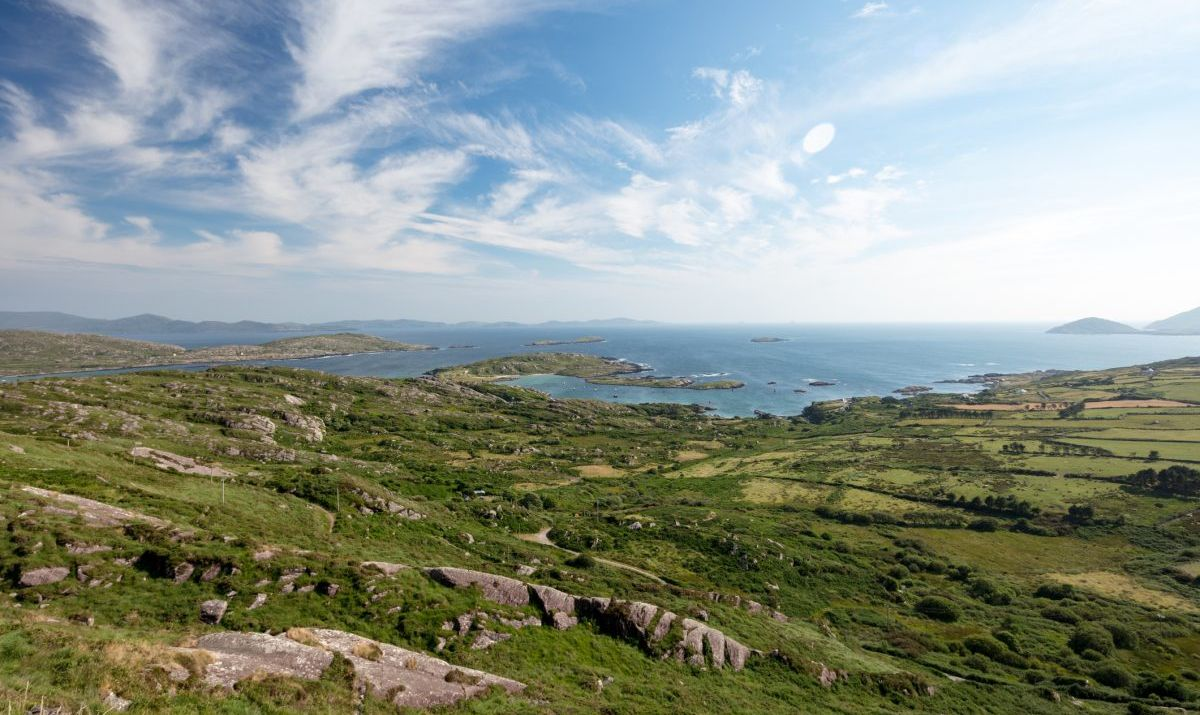 The south western coastline of Ireland can be experienced from the classic Ring of Kerry drive.