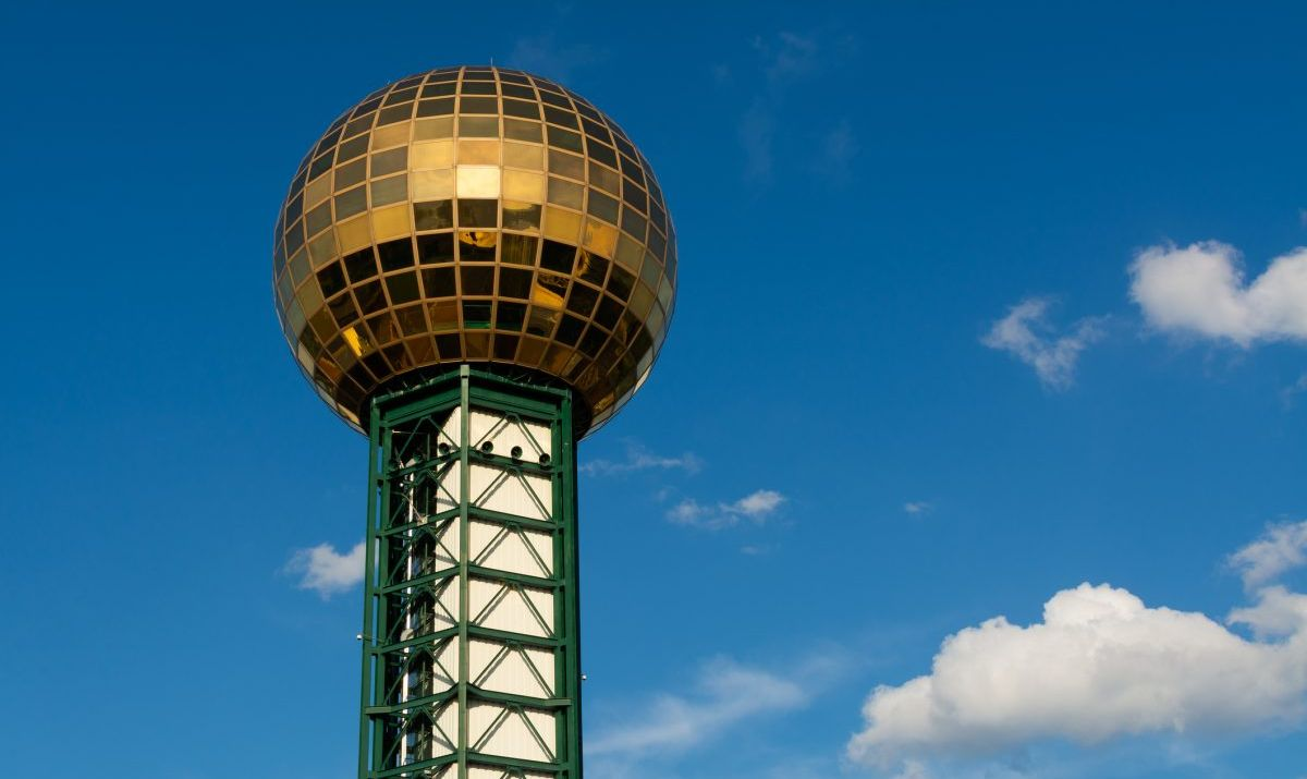 The Sunsphere in Knoxville