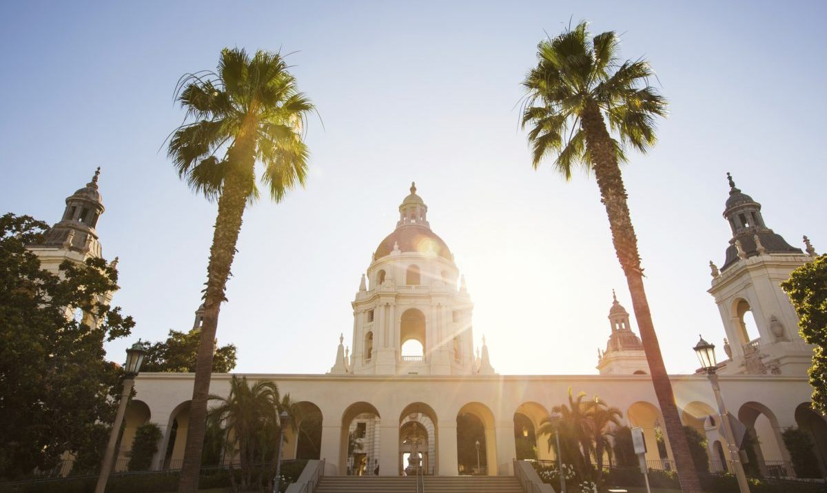 Pasadena City Hall is a popular filming location.