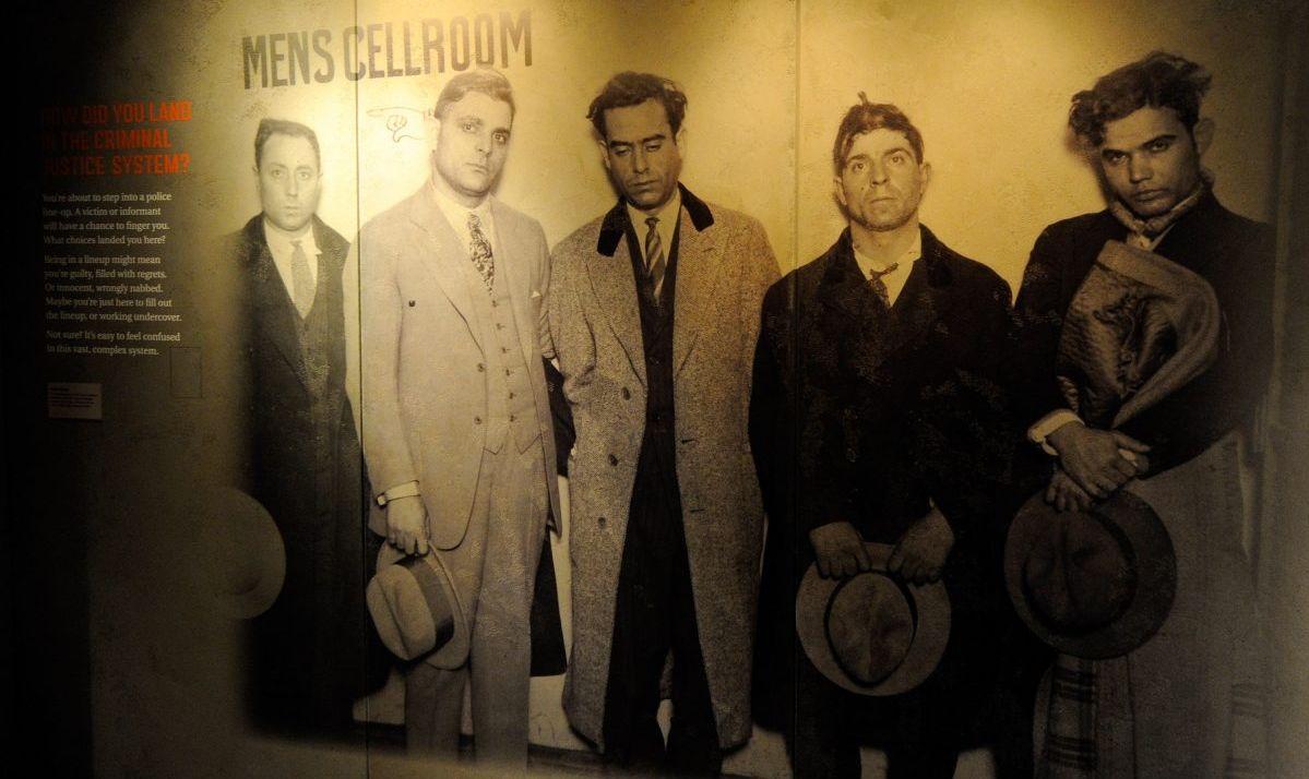 Mob Museum exhibit Las Vegas