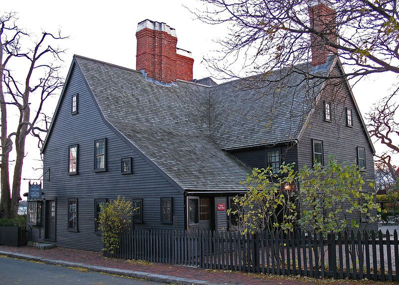 The House of the Seven Gables in Salem, MA.