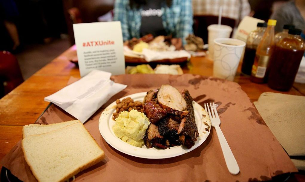 Austin Barbecue Plate