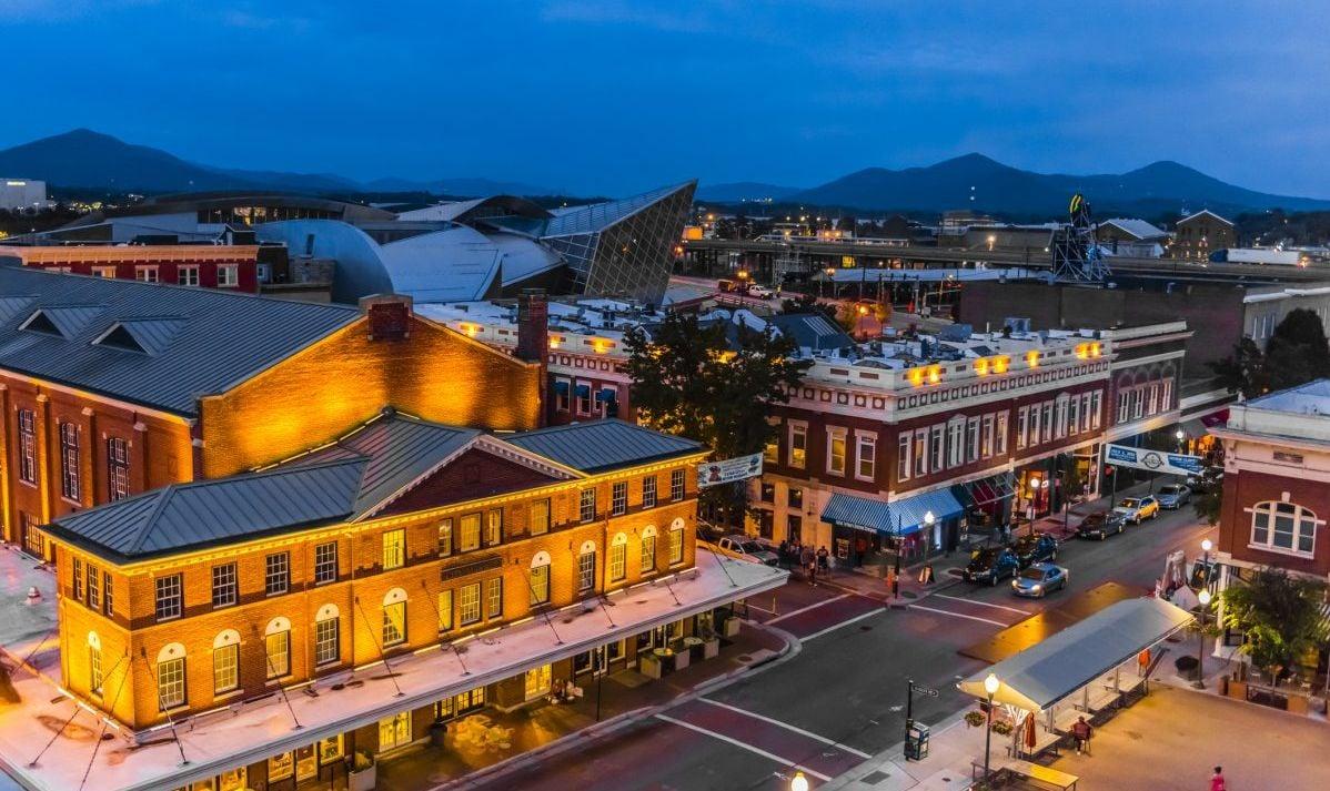 The Roanoke downtown city market