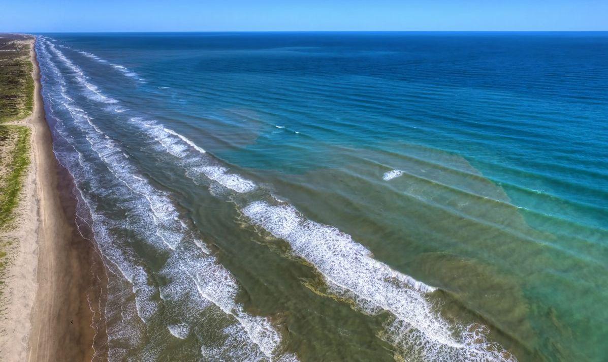 texas beach island