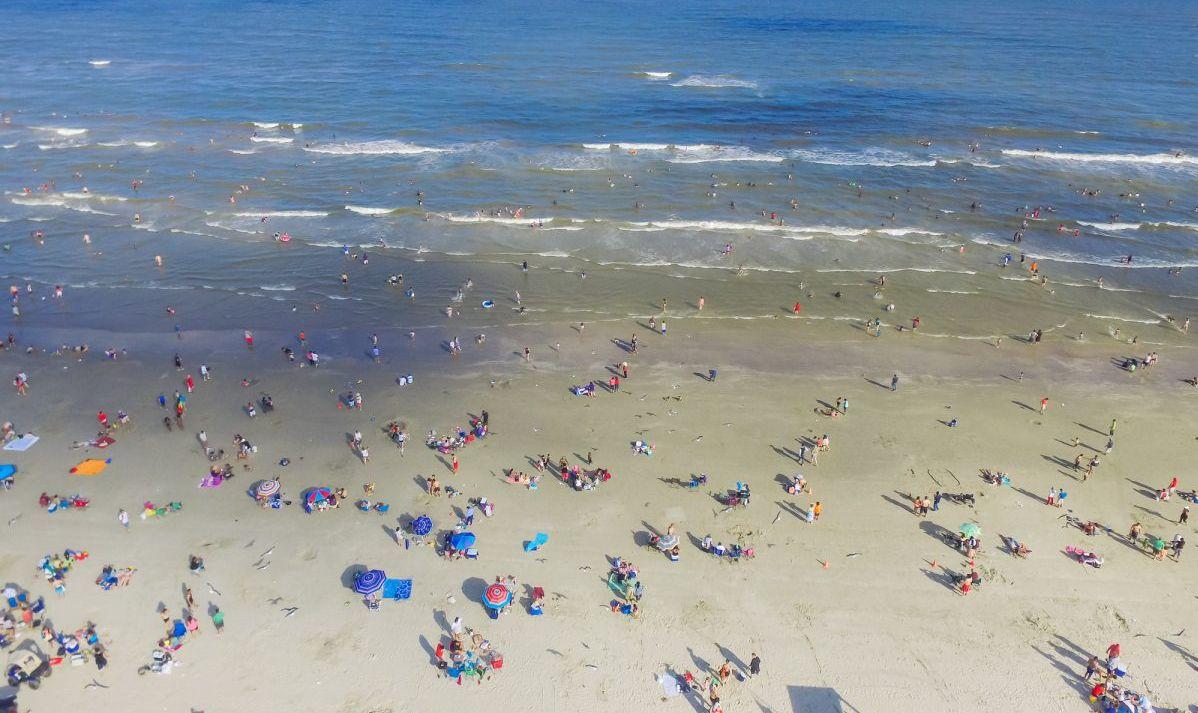 babes beach galveston public