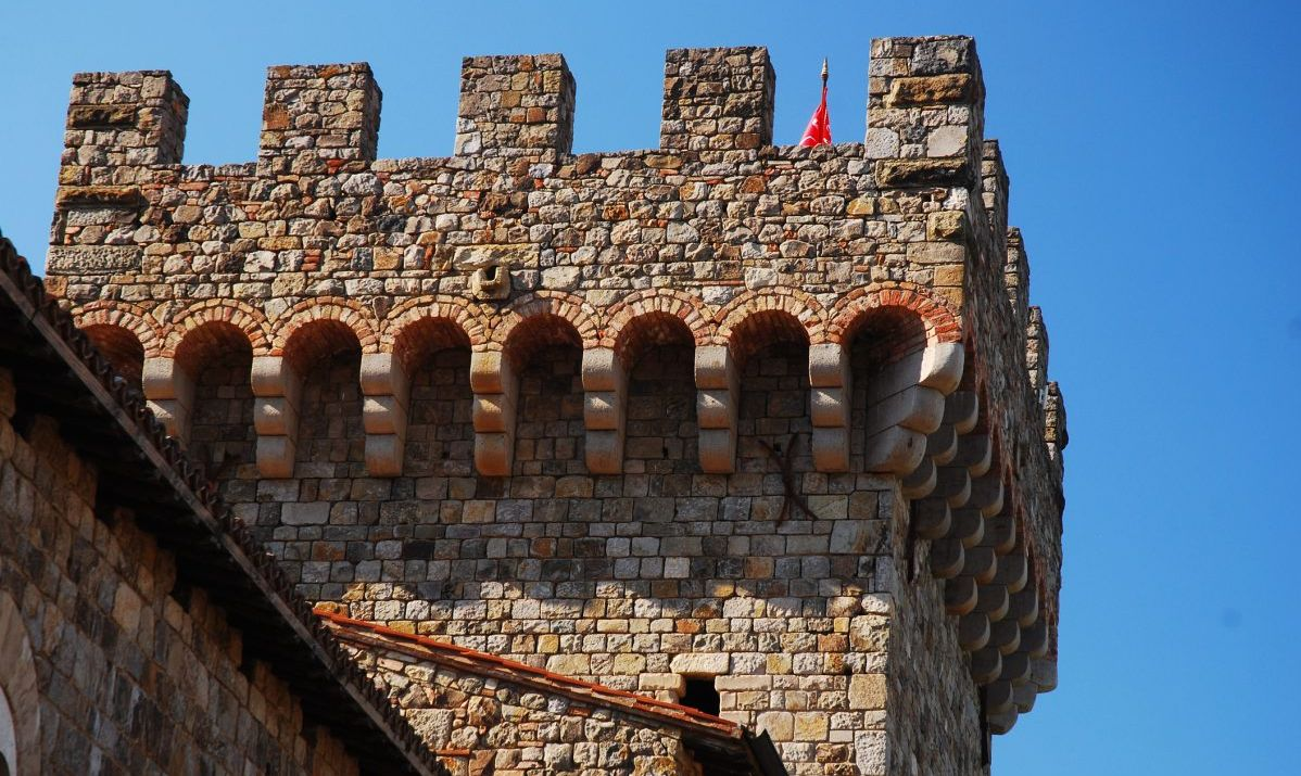 Visit the 13th century Tuscan folly that is the Castello di Amorosa winery in Napa Valley.