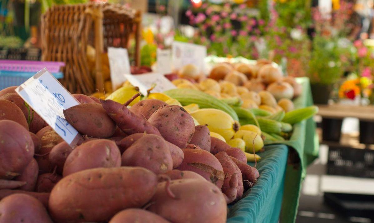 Gorgeous California produce at the Temecula Farmer's Market.