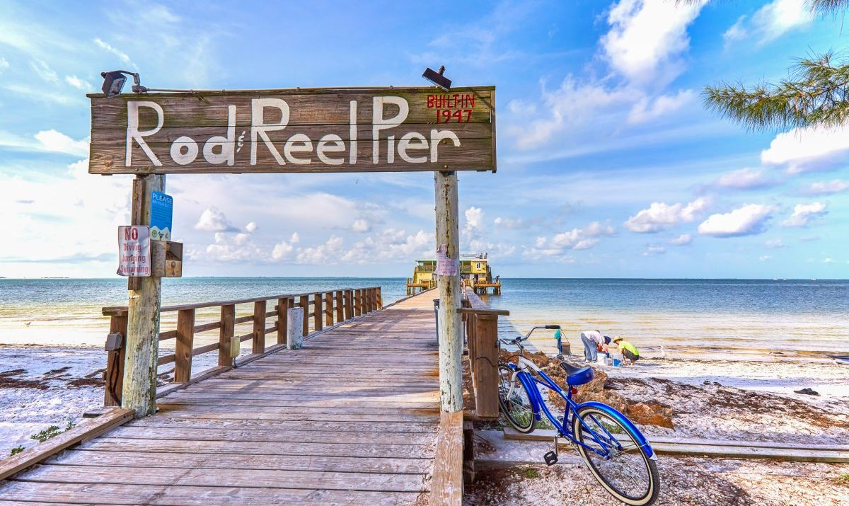 Rod and Reel Pier at Anna Maria Island