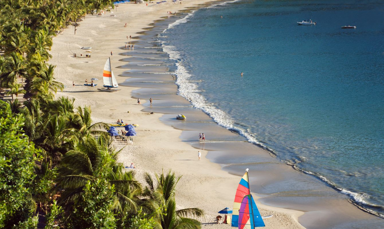 Sunny Beach of Playa la Ropa