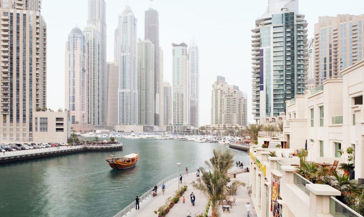Dubai has high tech solutions