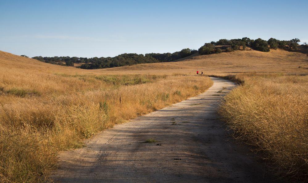 Trail along the santa rosa plateau
