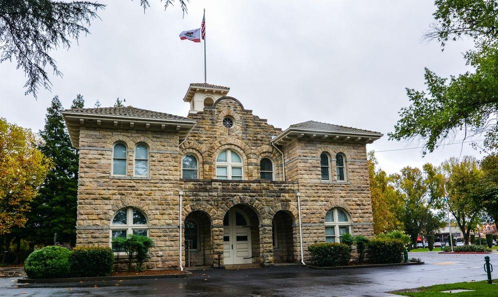 City Hall of Sonoma, California