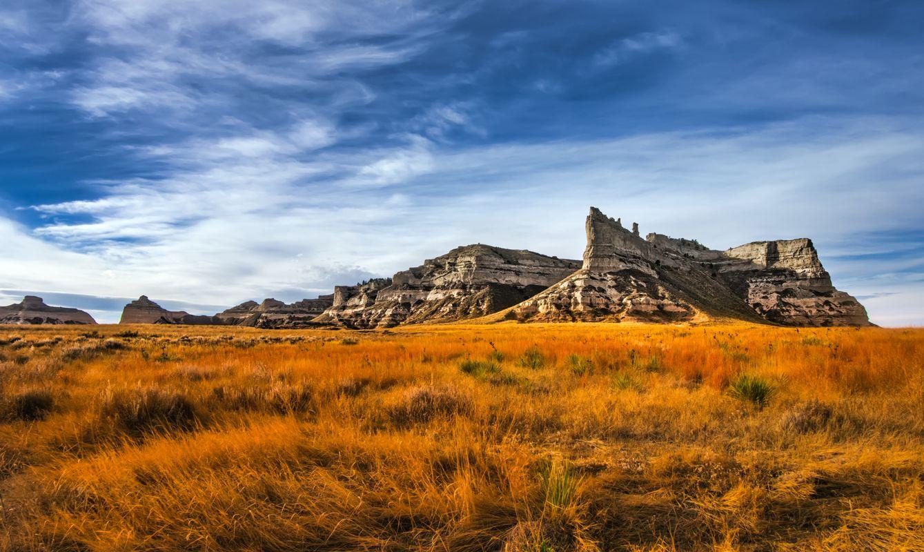 Scottusbluff National Monument in Gering Nebraska