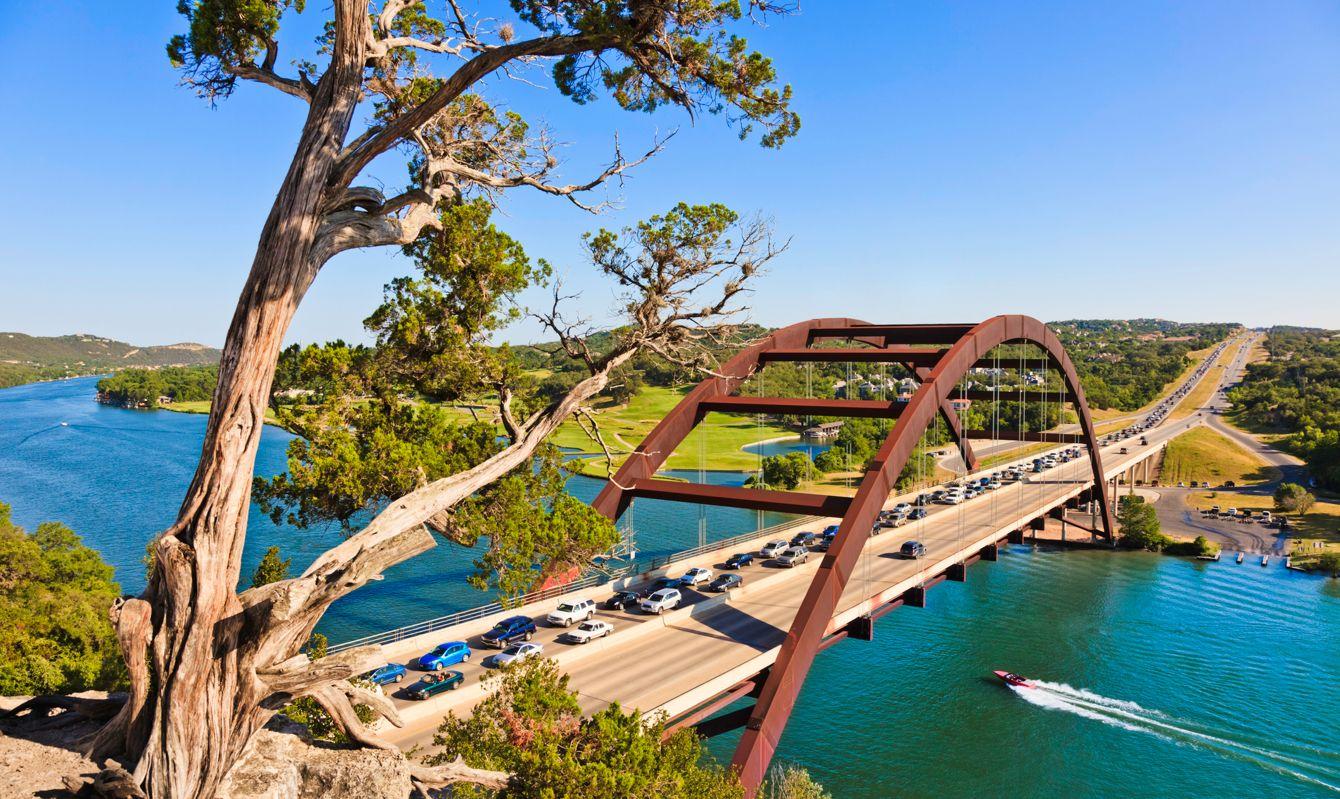 360 bridge (Pennybacker Bridge) in Austin Texas