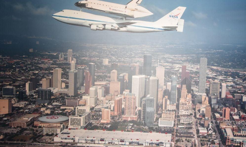 NASA 905 at Space Center in Houston Texas