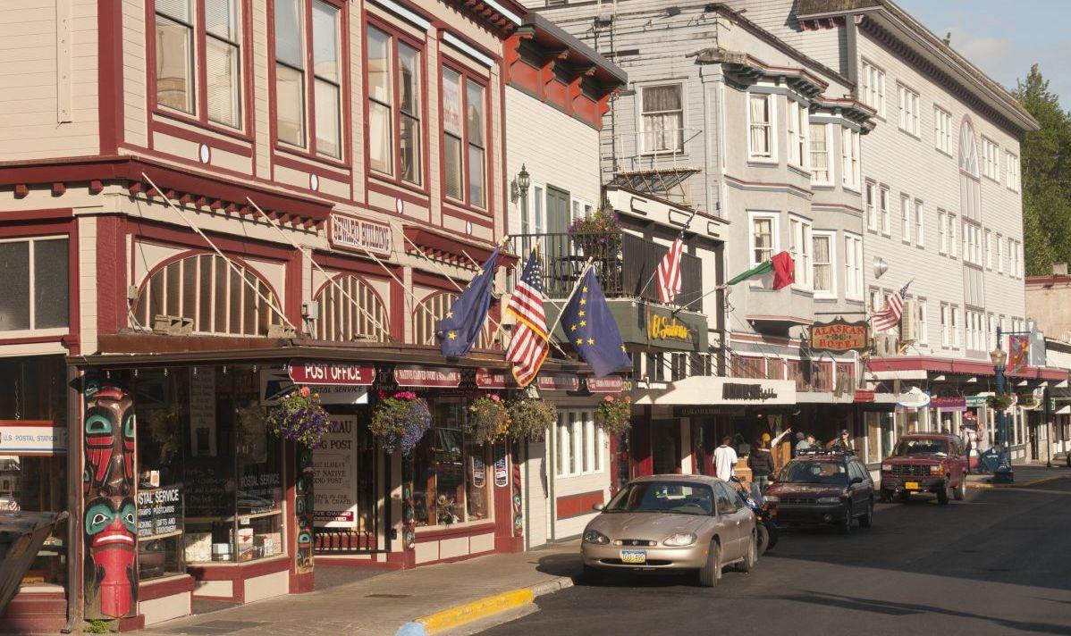 downtown souvenirs shops alaska juneau