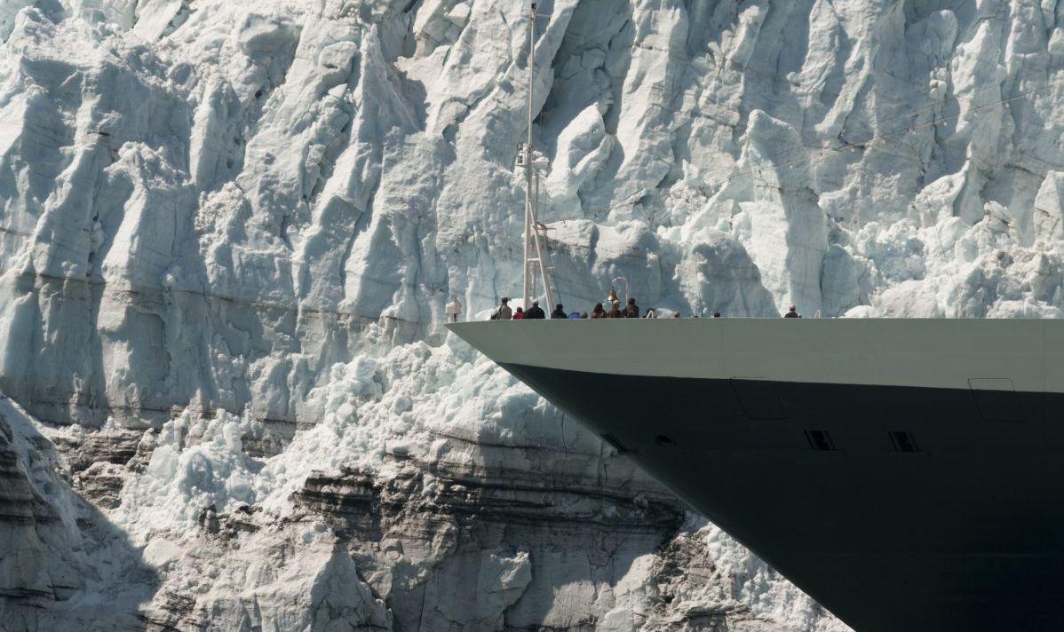 alaska cruise glacier calving