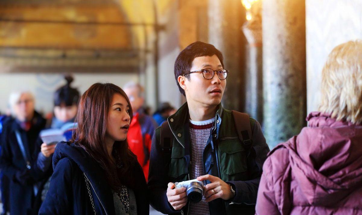 unfamiliar destination culture shock couple