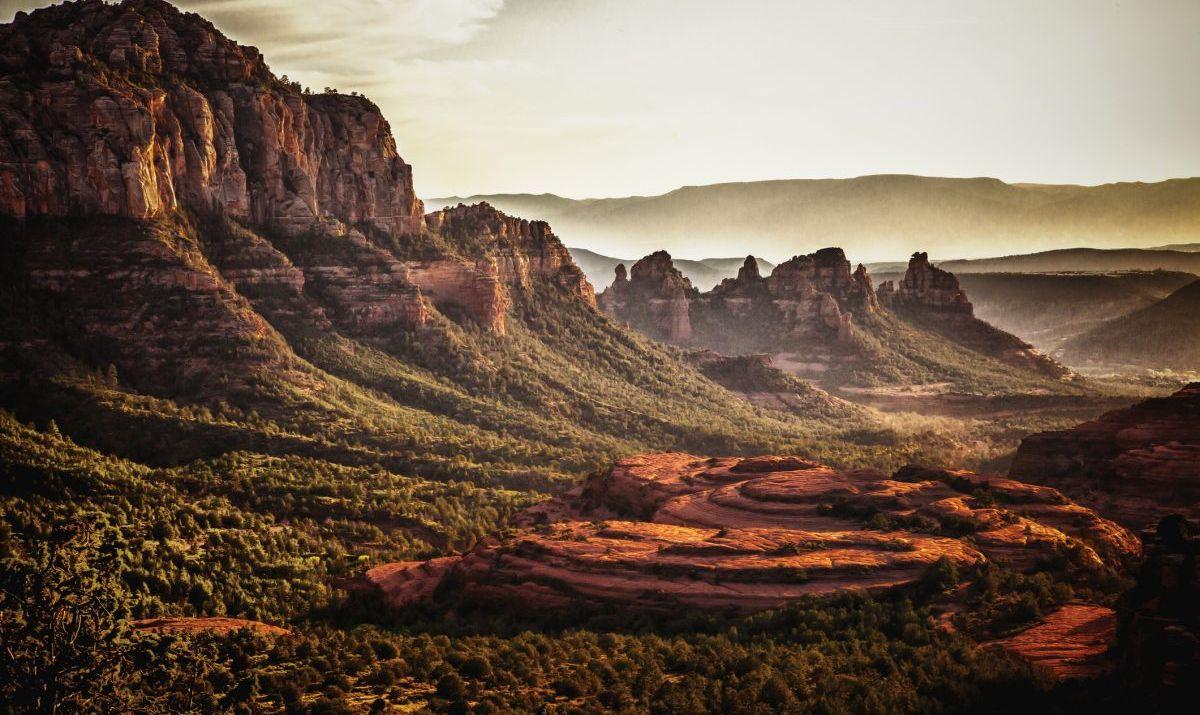 Cliffs in Sedona, Arizona