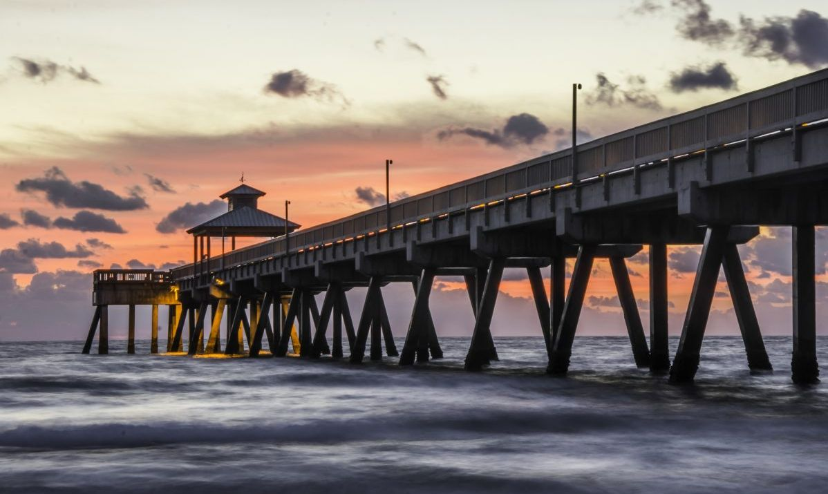 floridians destinations deerfield beach pier