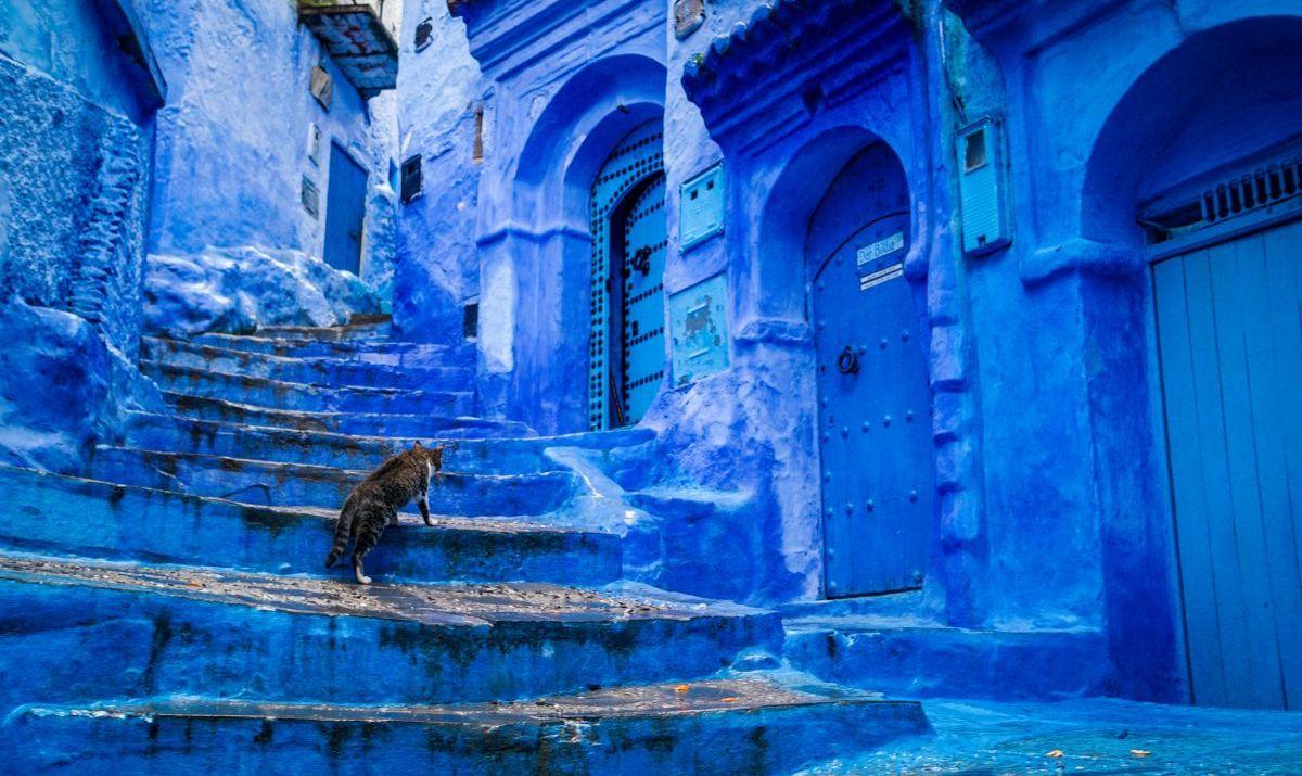 Morocco's blue city, Chefchaouen