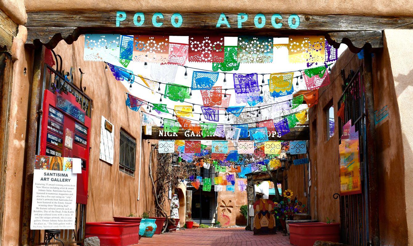 Old Town, Albuquerque, NM, USA