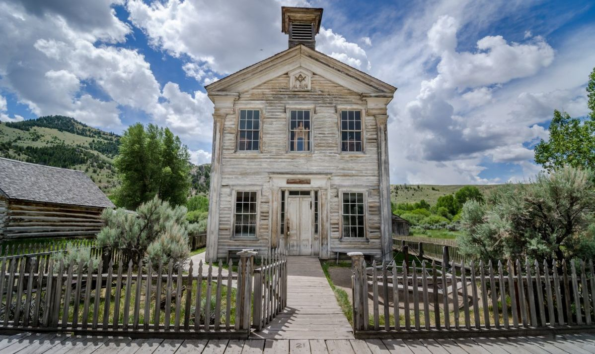 Old School House in Bannack, MT