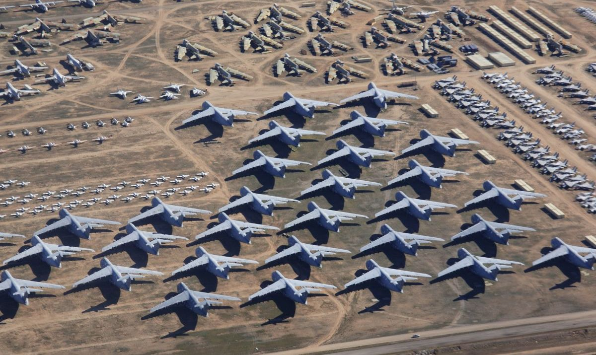 aircraft boneyard base