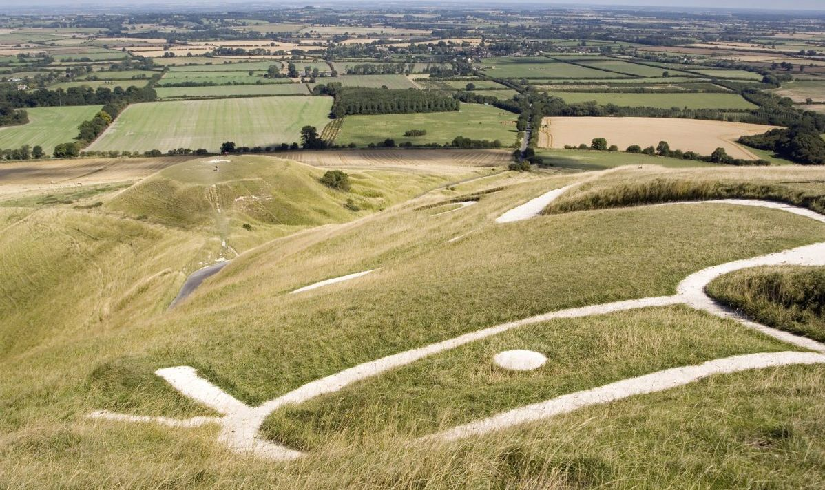 uffington white horse ground