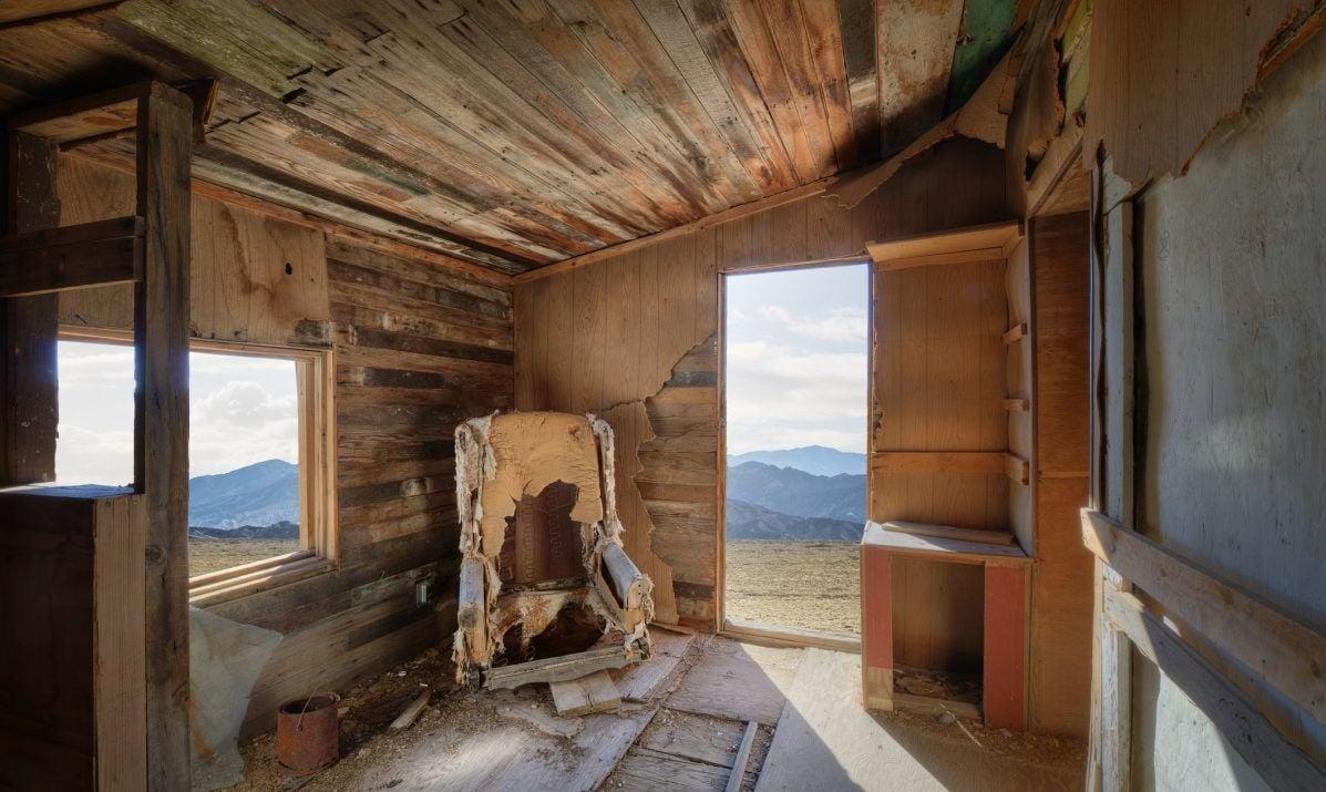 Abandoned Cabin in Rhyolite, NV