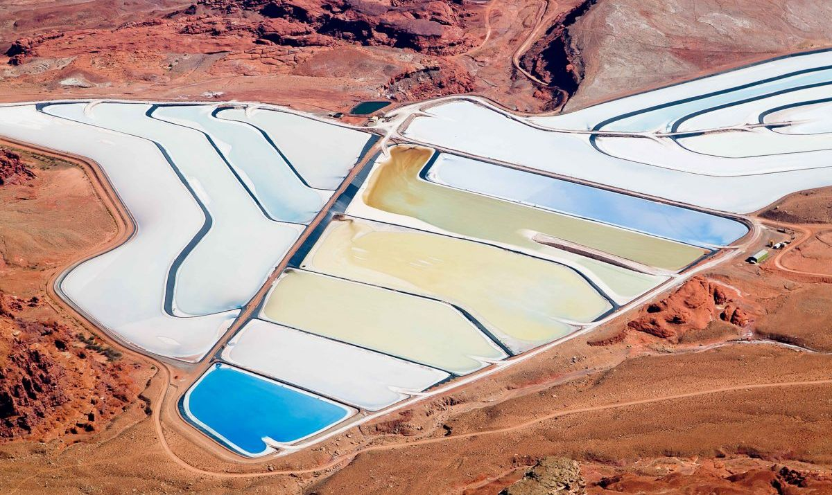 potash salt ponds