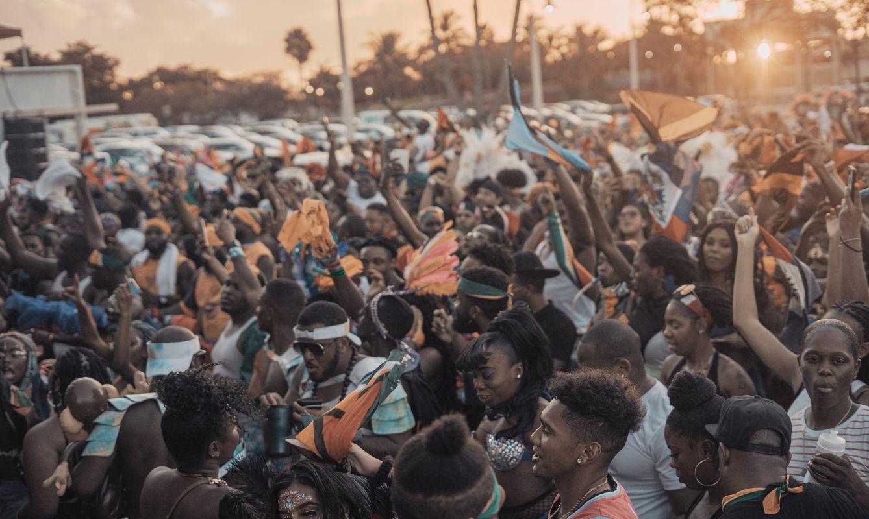 Miami Caribbean carnival outdoor party/festival