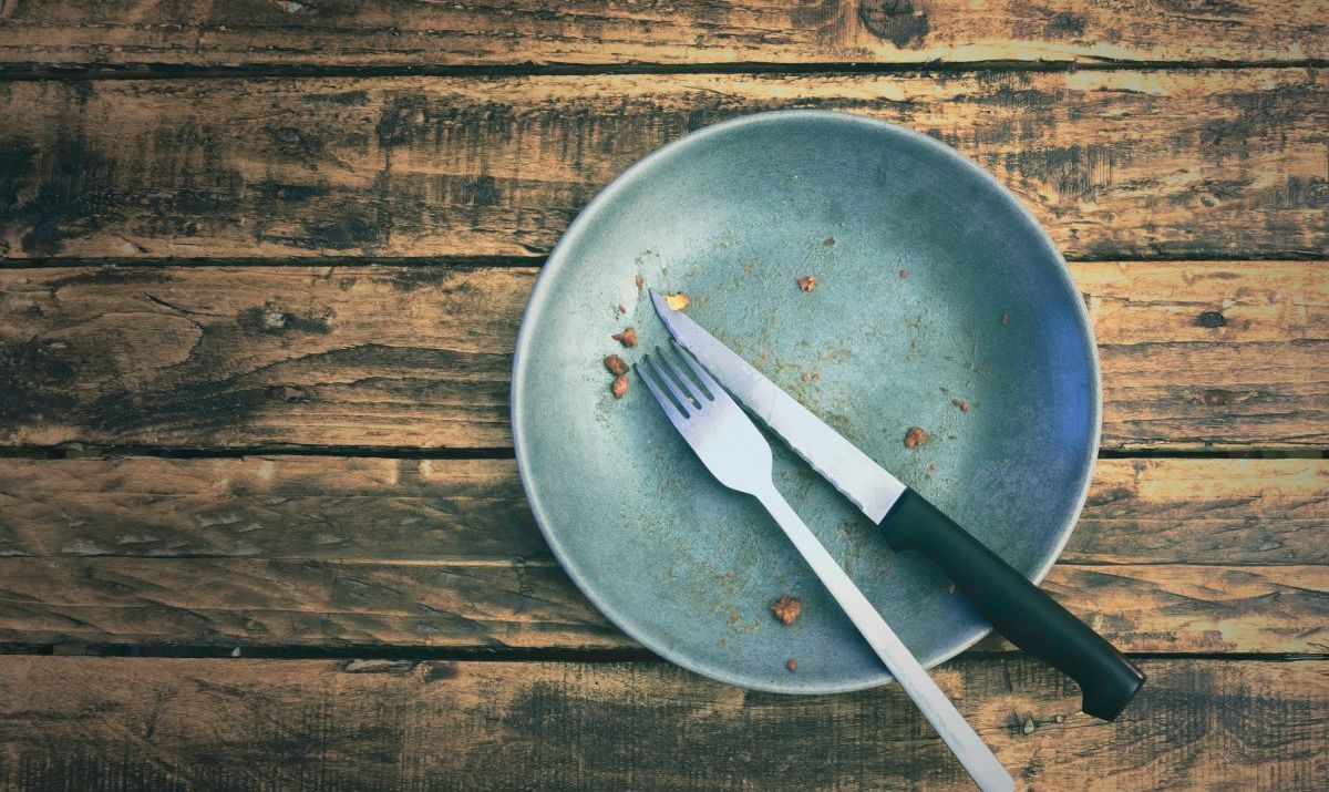 Don't be a member of the Clean Plate Club