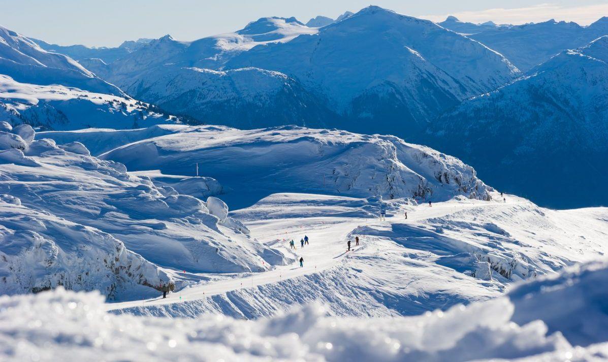 skiing whistler canada spring break