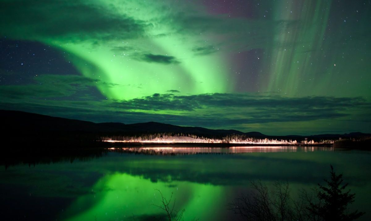 yukon canada northern lights