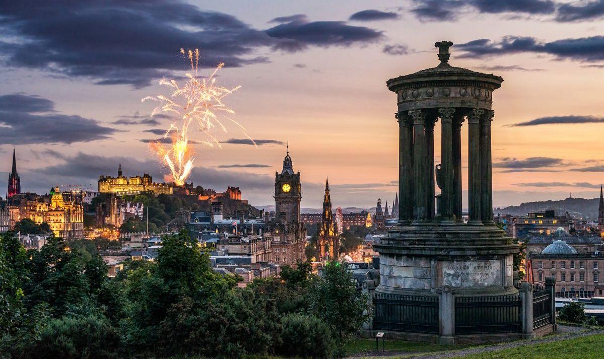 edinburgh castle scotland destination family